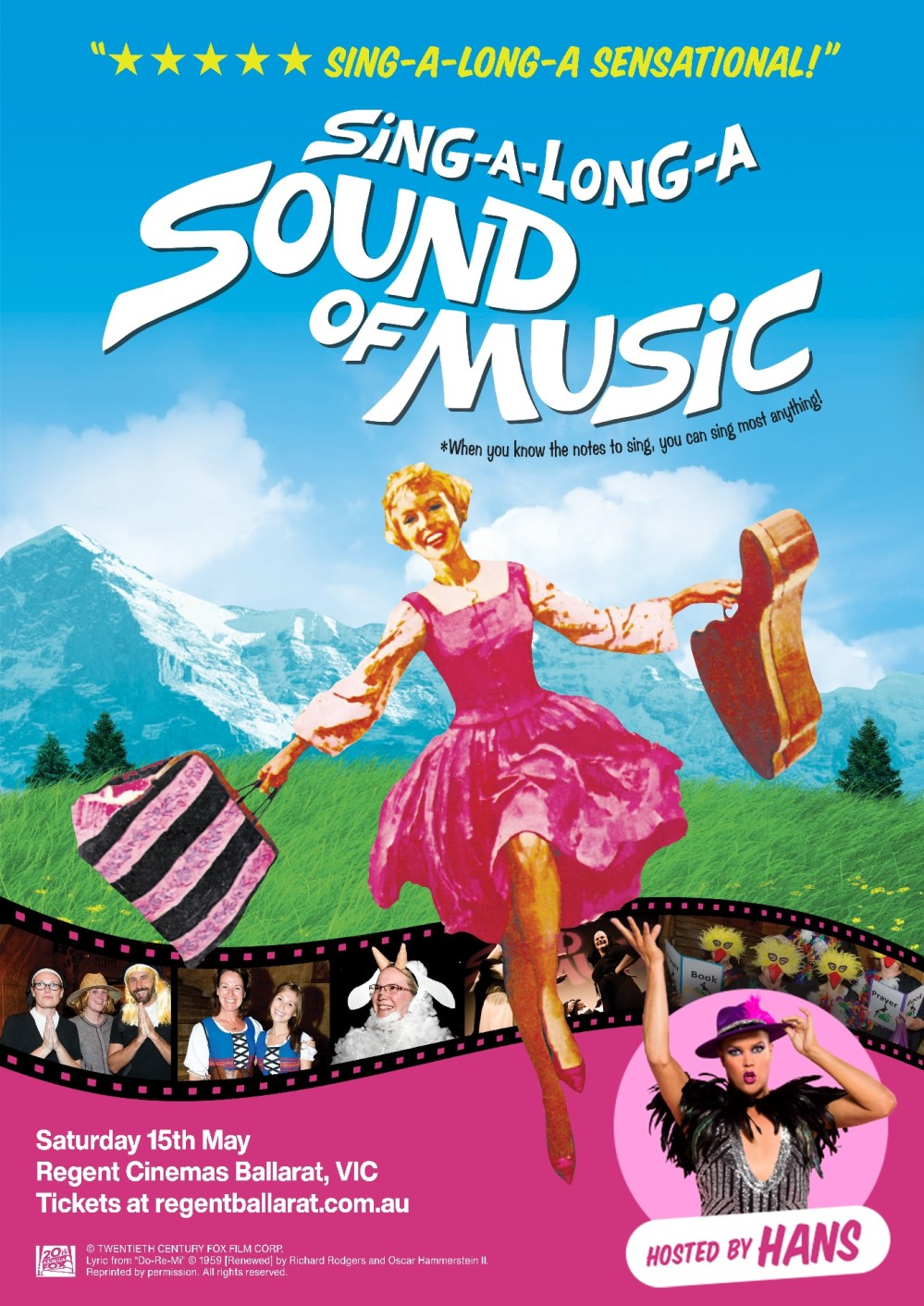 Sing-A-Long-A Sound Of Music Hosted by Hans